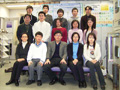 Photograph of Okabe Lab. Member in 2005